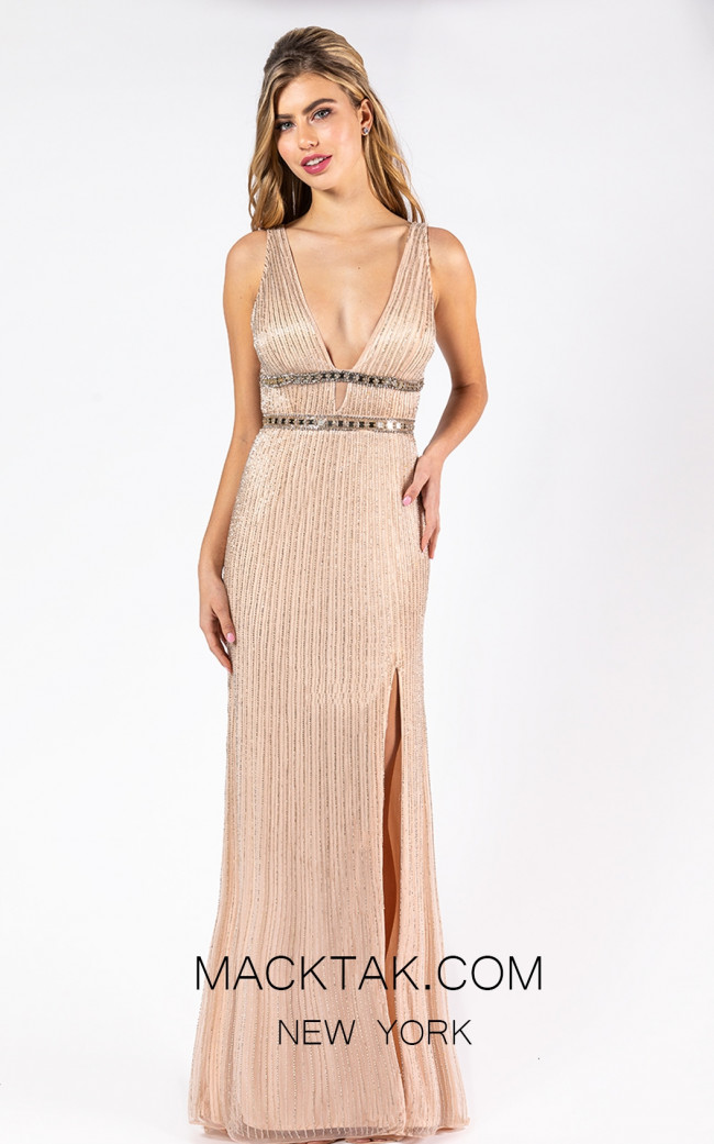 Primavera Couture 3225 Front Blush Dress