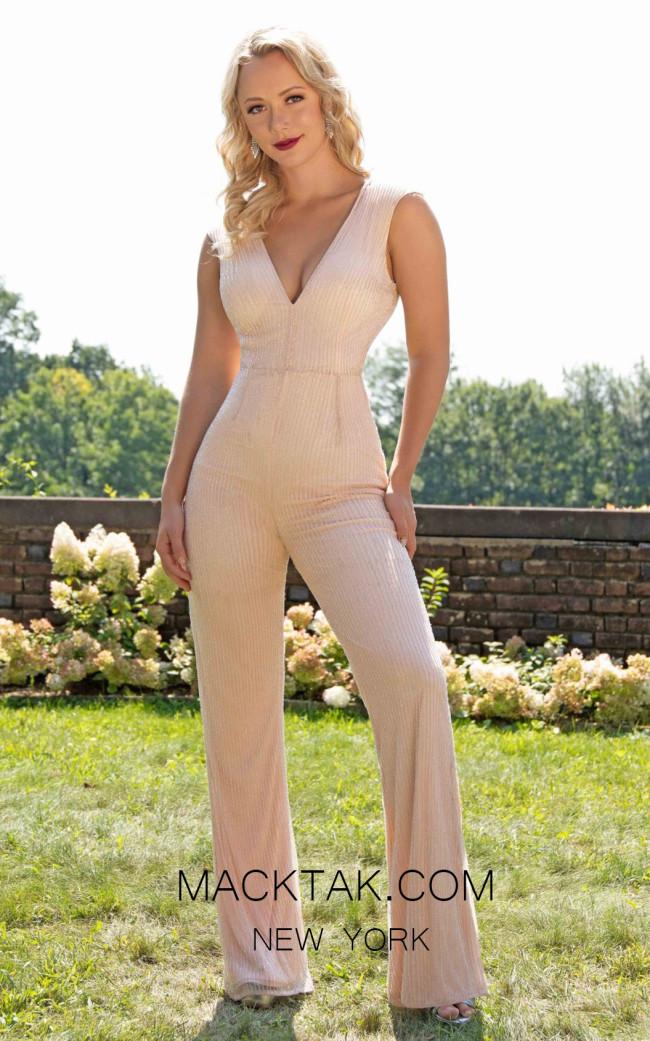 Primavera Couture 3260 Front Blush Dress