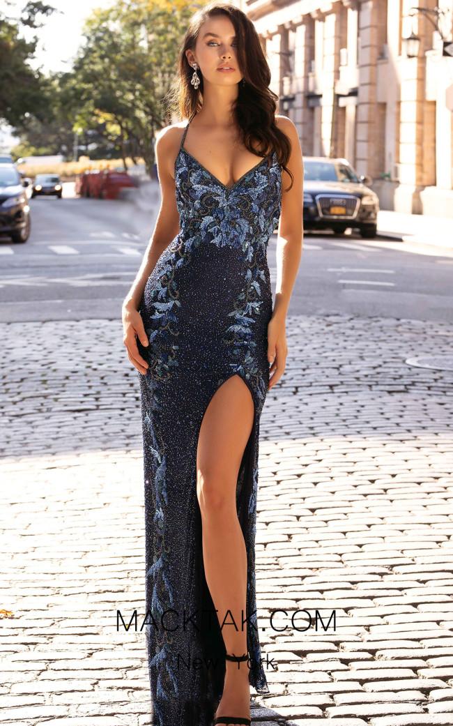 Primavera Couture 3429 Front Dress