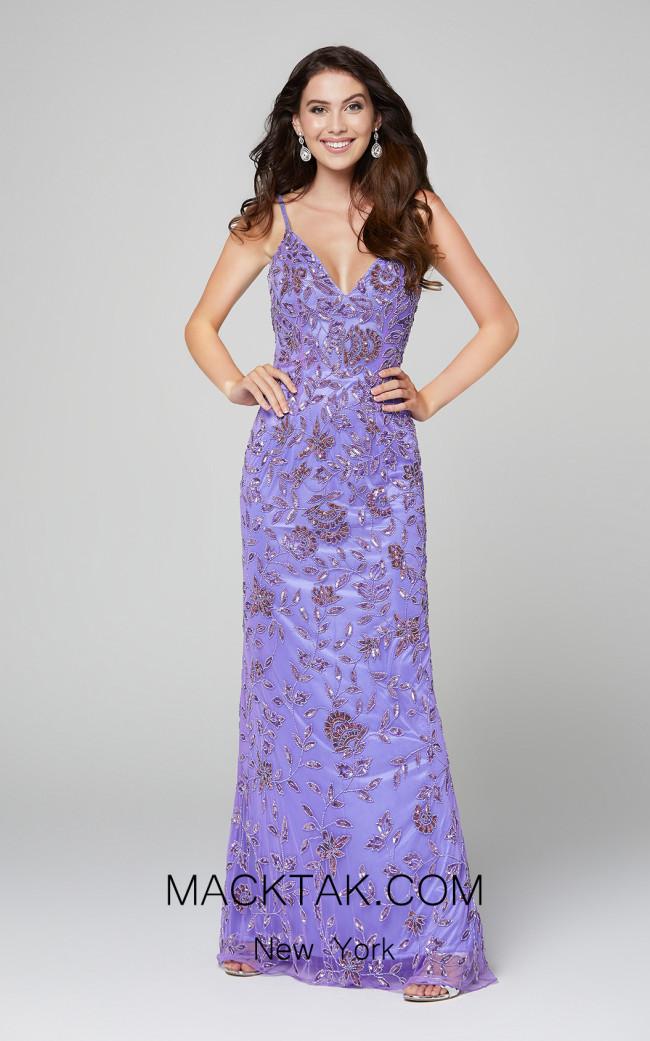 Primavera Couture 3430 Lilac Front Dress