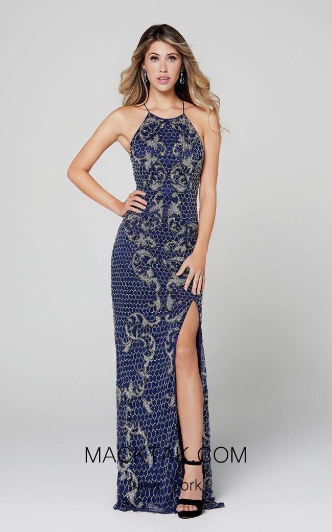 Primavera Couture 3438 Midnight Front Dress