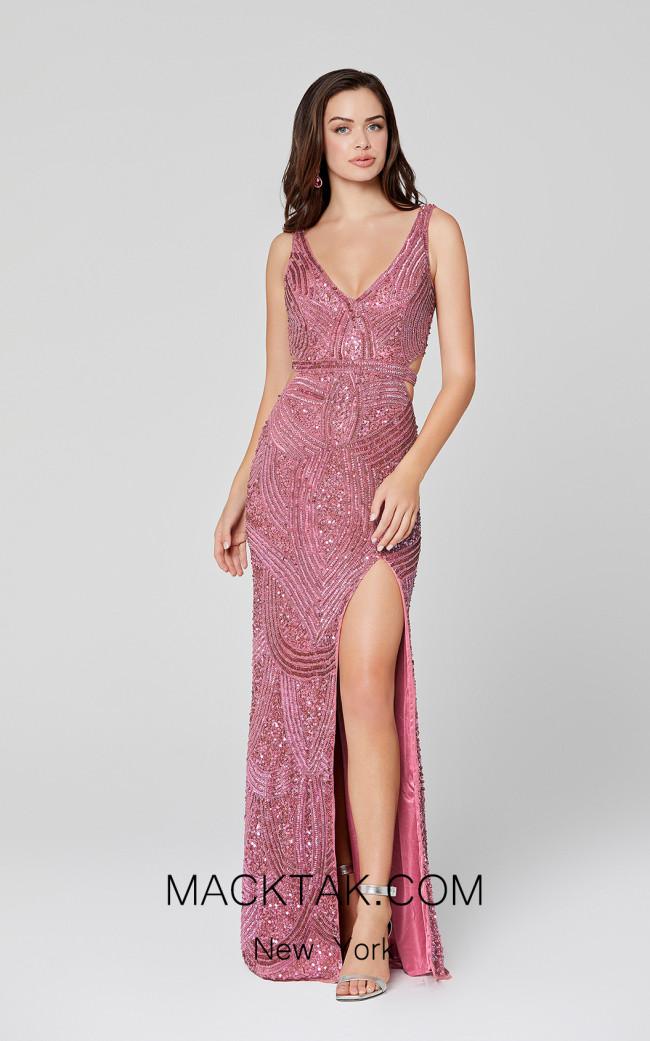 Primavera Couture 3465 Raspberry Front Dress