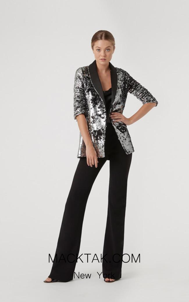 Rachel Gilbert RG10022 Platinum Front Evening Dress