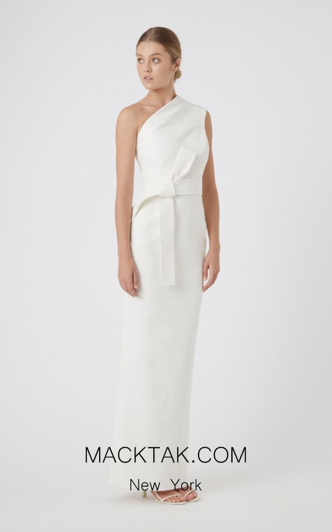 Rachel Gilbert RG60399 Ivory Front Evening Dress