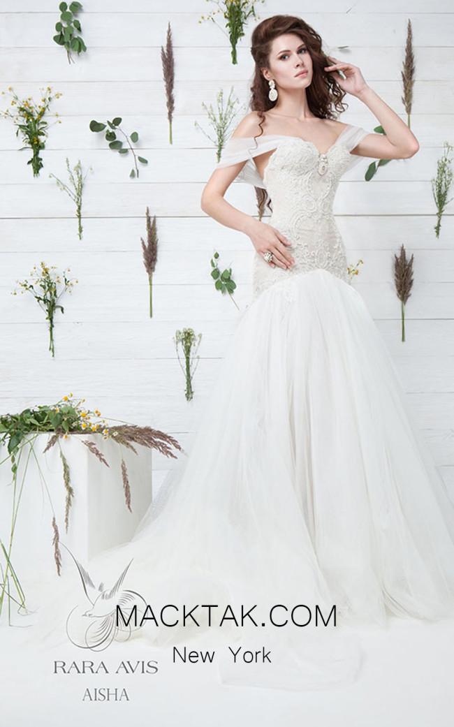 Rara Avis Aisha Front Evening Dress