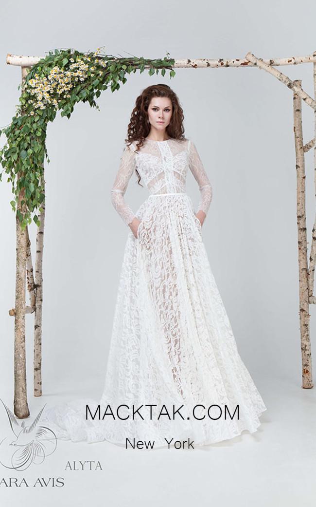 Rara Avis Alyta Front Evening Dress