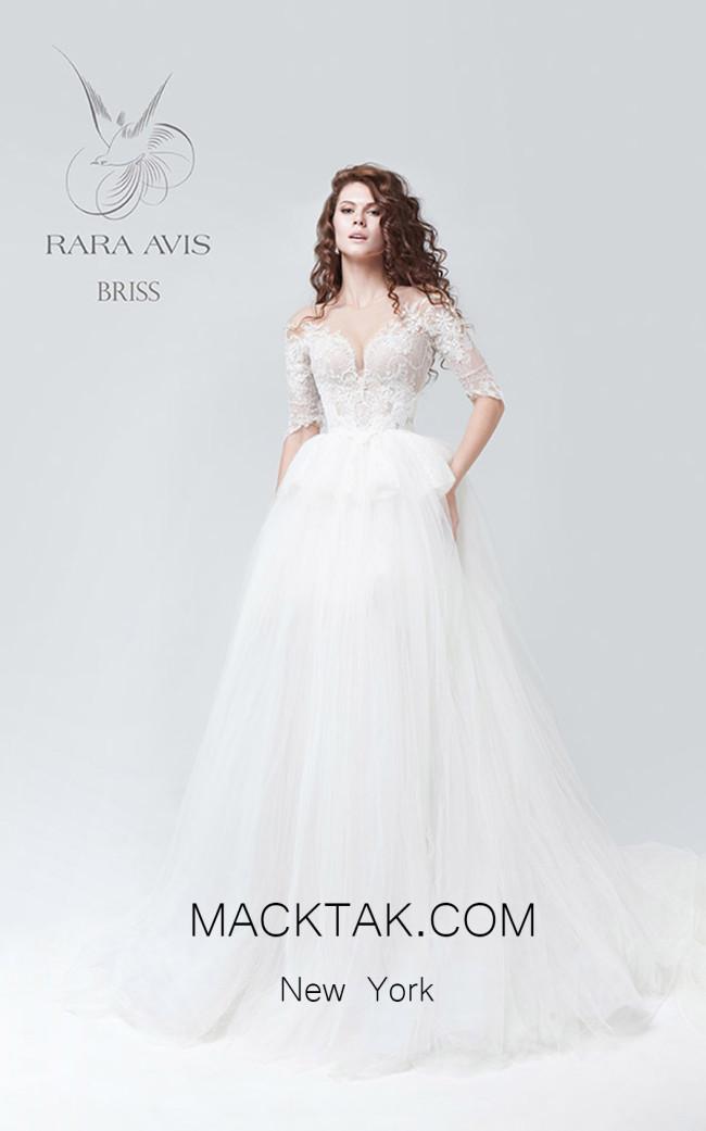 Rara Avis Briss Front Evening Dress