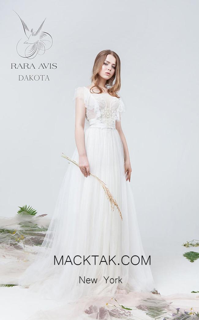 Rara Avis Dakota Front Evening Dress