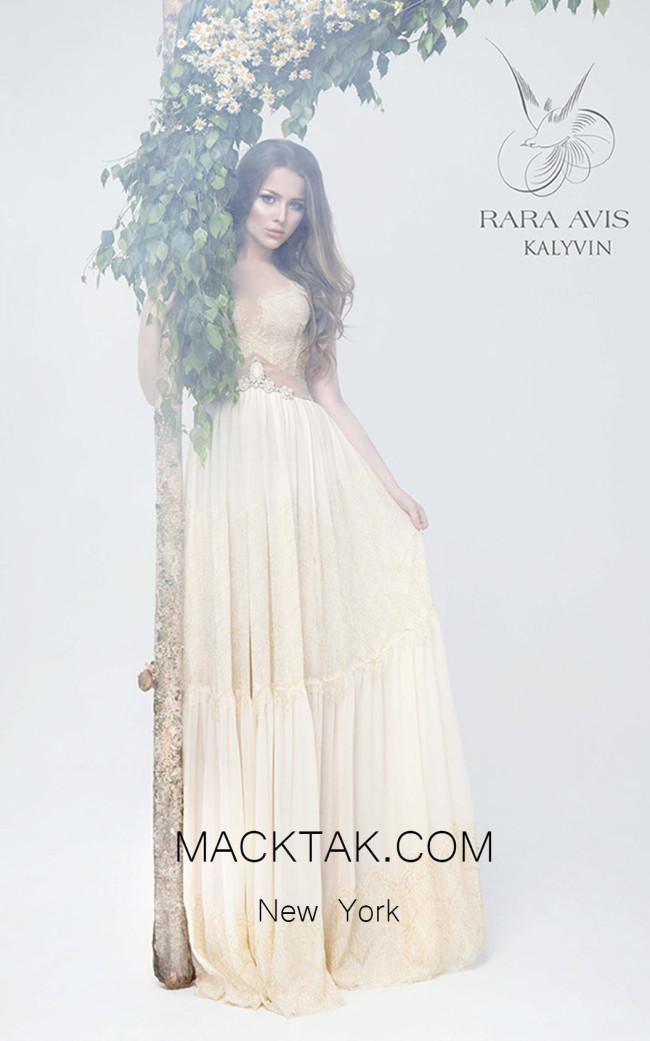 Rara Avis kalyvin Front Evening Dress