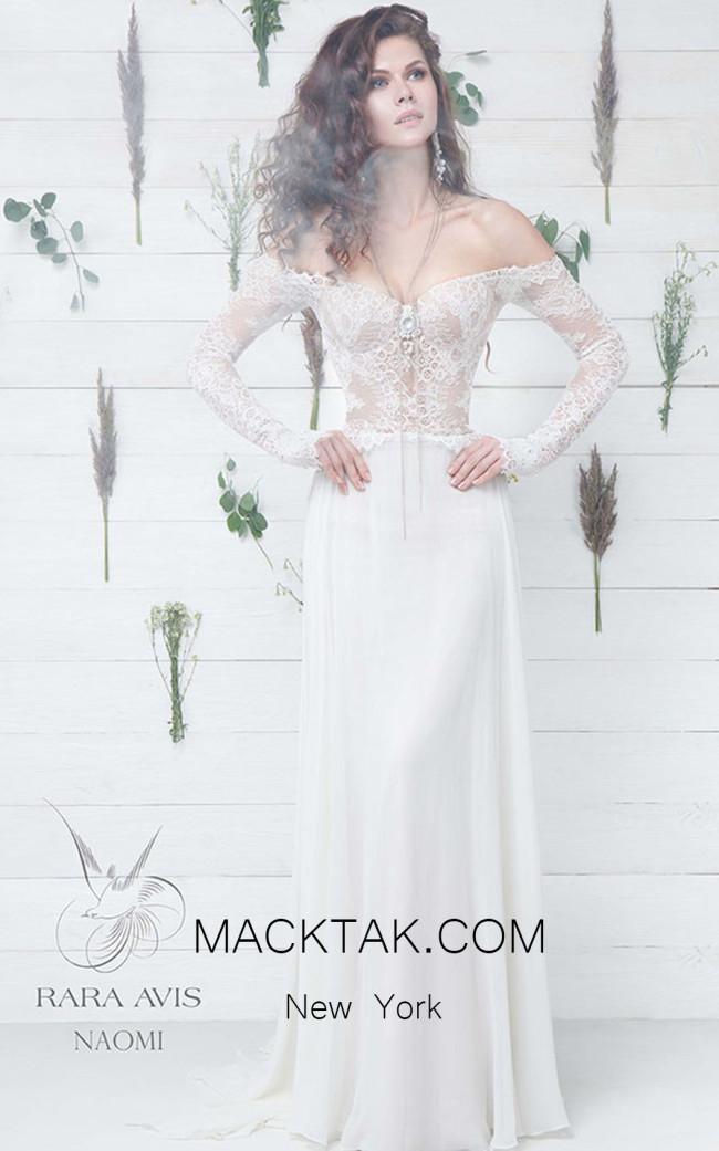 Rara Avis Naomi Front Evening Dress