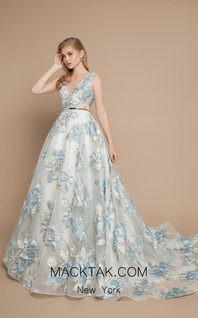 Ricca Sposa Bloom Light Blue Front Dress
