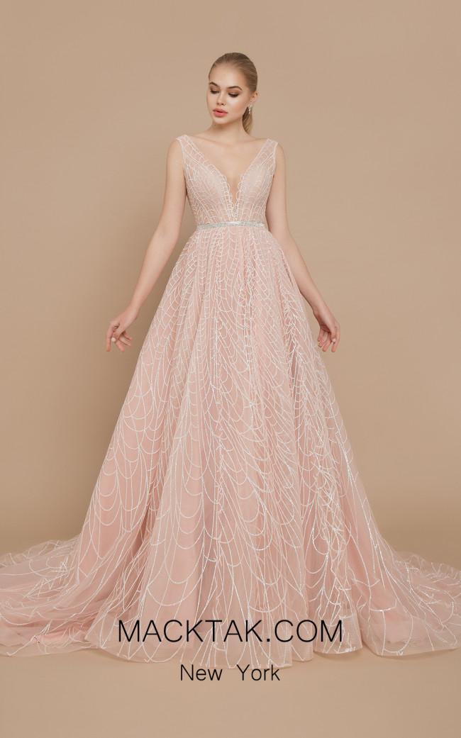Ricca Sposa Celine Pink Front Dress