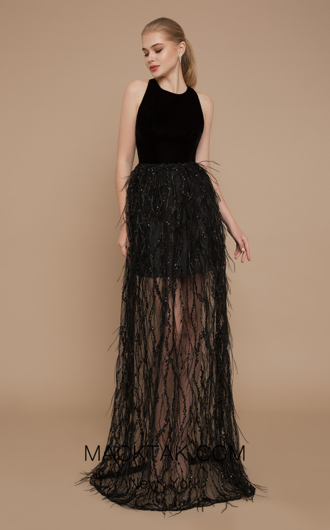 Ricca Sposa Coco Black Front Dress