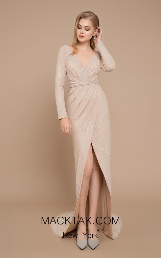 Ricca Sposa Dolce Glitter Ivory Front Dress