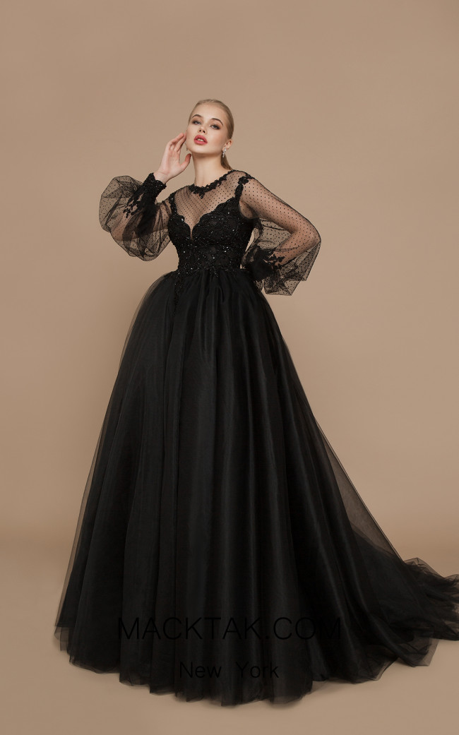 Ricca Sposa Graff Black Front Dress