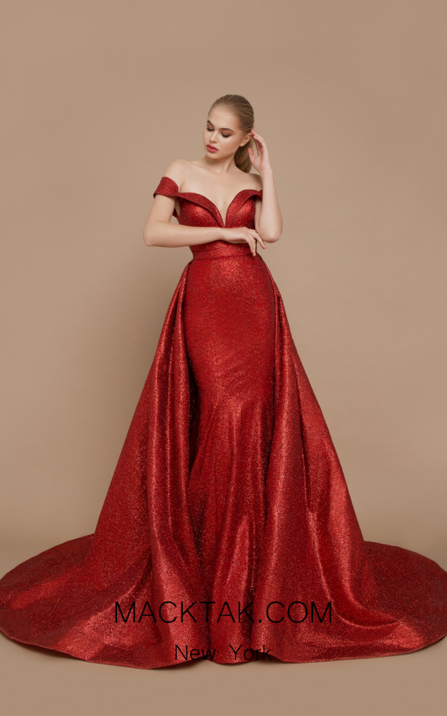 Ricca Sposa Grammy Red Front Dress