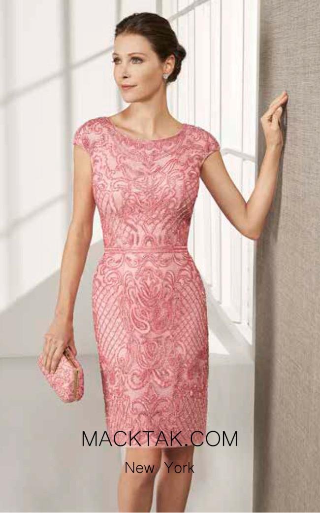 Rosa Clara Cocktail 3T130 Front Dress