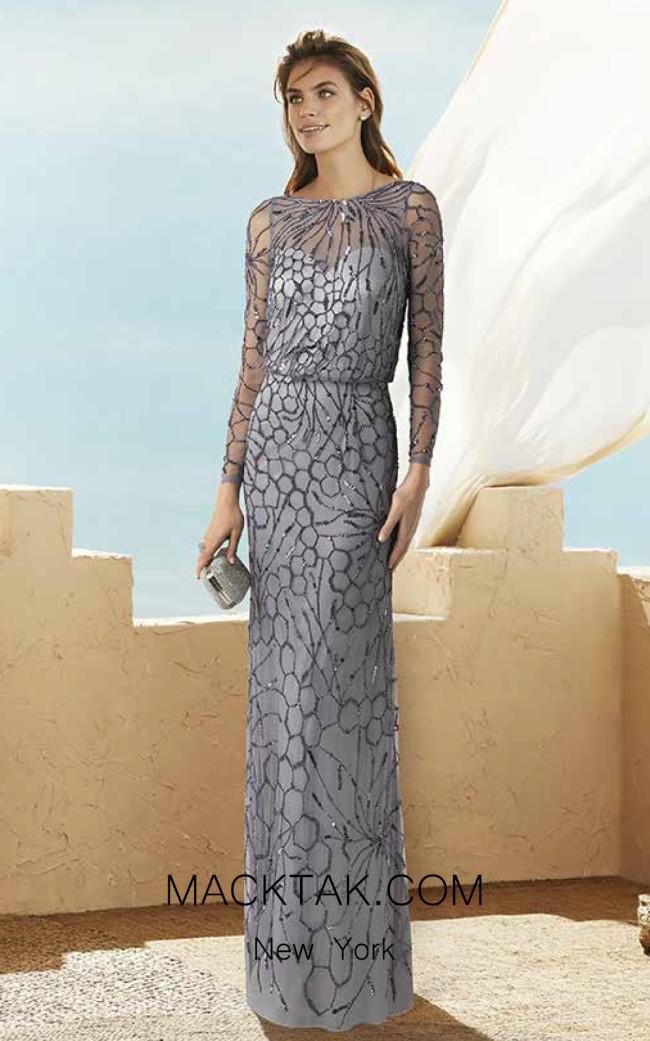 Rosa Clara Marfil 2J1E3 Front Dress