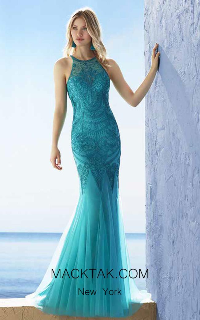 Rosa Clara Marfil 2J227 Front Dress