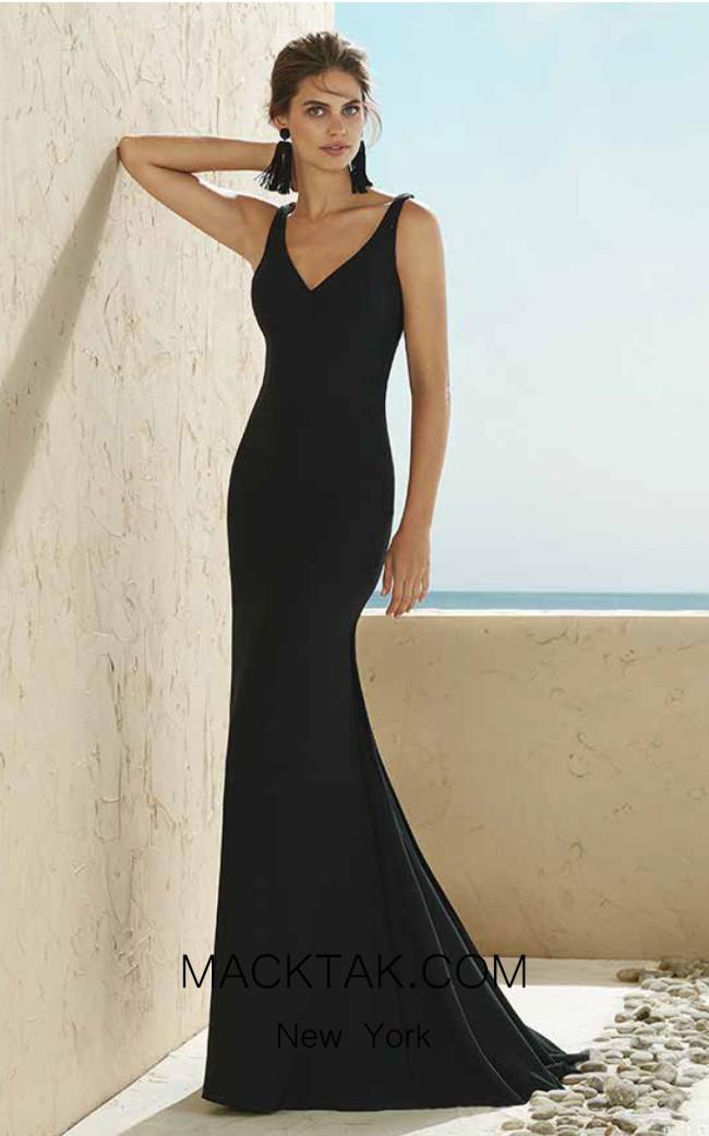 Rosa Clara Marfil 3J117 Front Dress