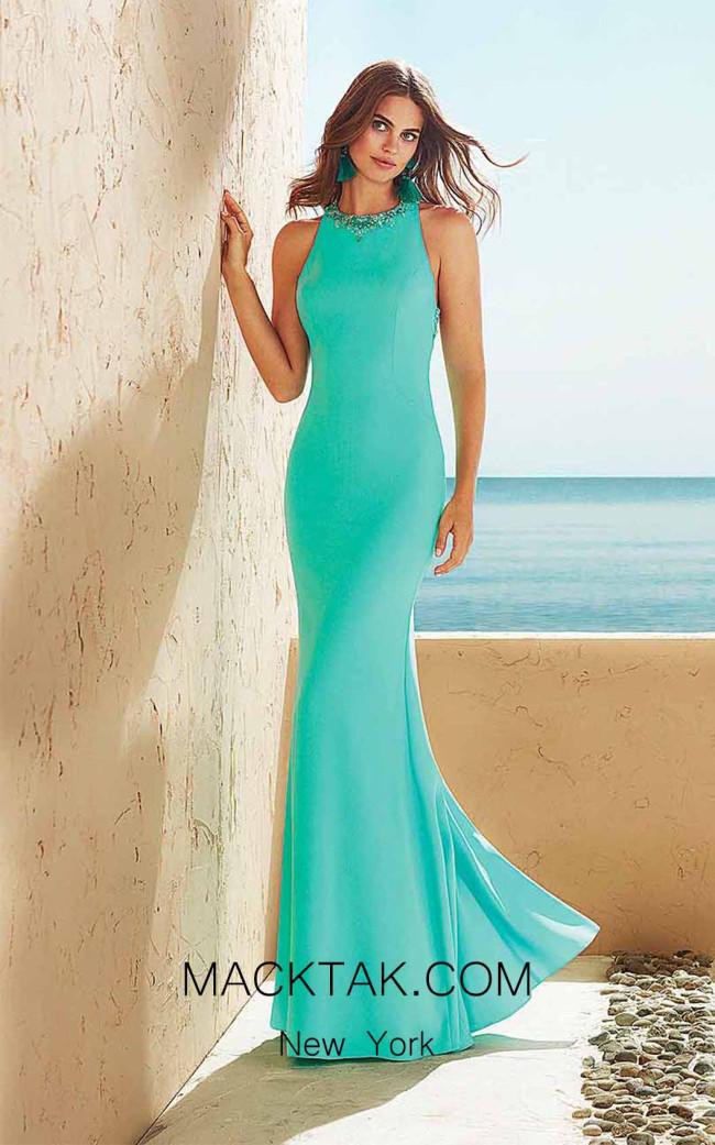 Rosa Clara Marfil 3J118 Front Dress