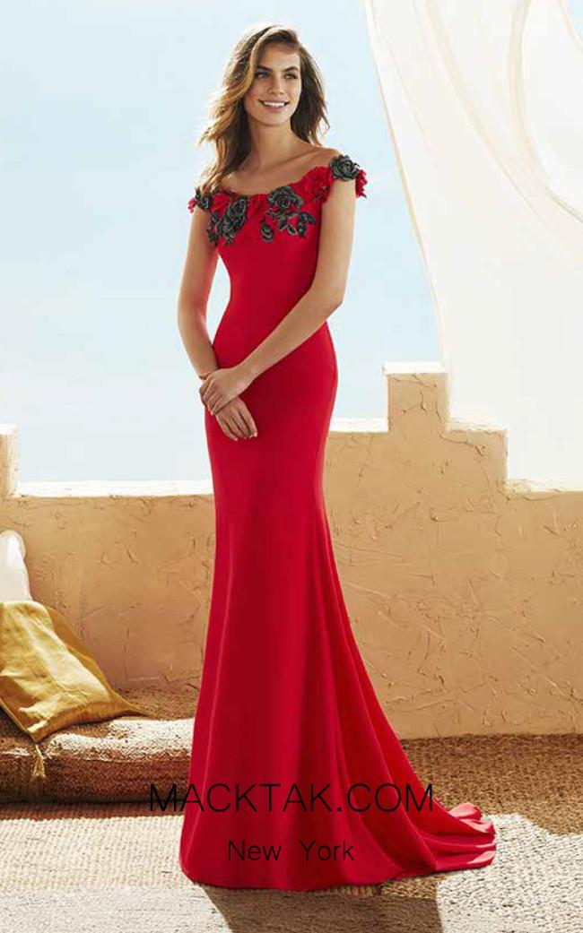 Rosa Clara Marfil 3J130 Front Dress