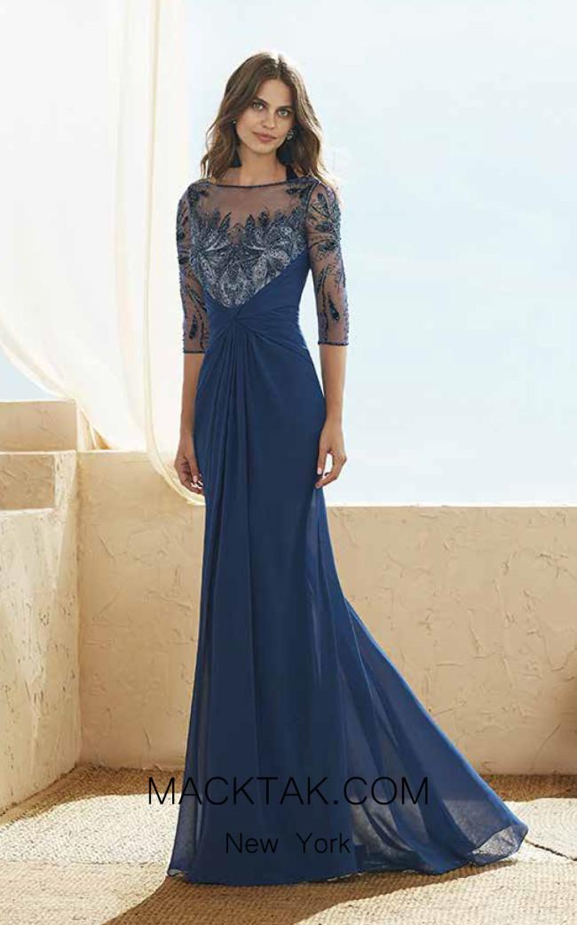 Rosa Clara Marfil 3J152 Front Dress