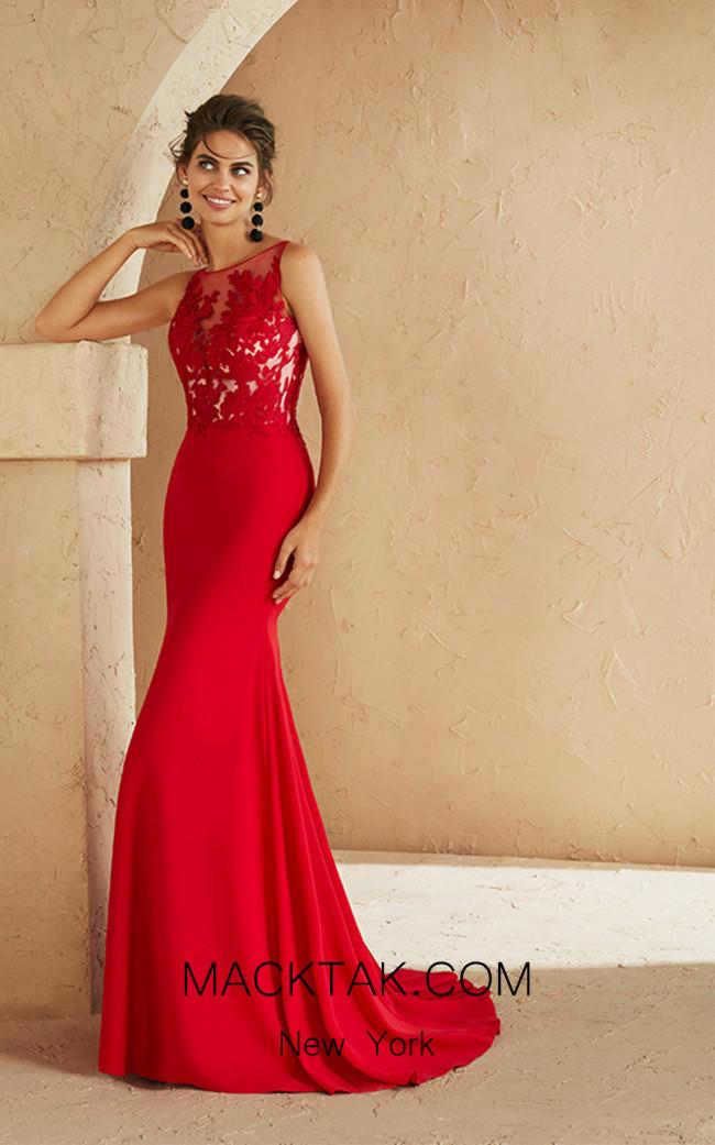 Rosa Clara Marfil 3J157 Front Dress