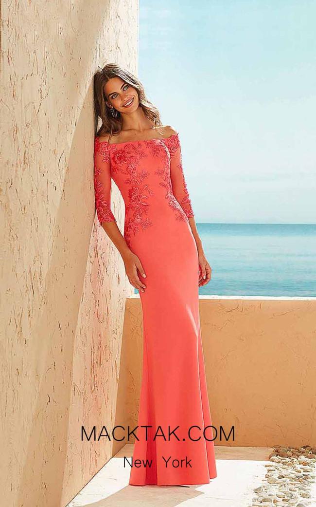 Rosa Clara Marfil 3J160 Front Dress