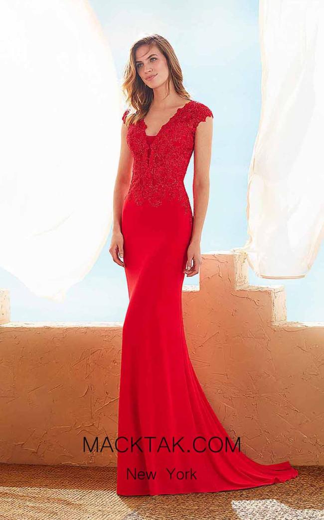 Rosa Clara Marfil 3J162 Front Dress