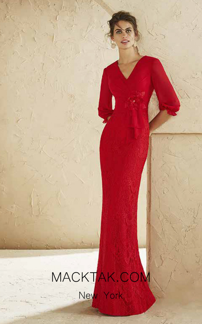 Rosa Clara Marfil 3J174 Front Dress