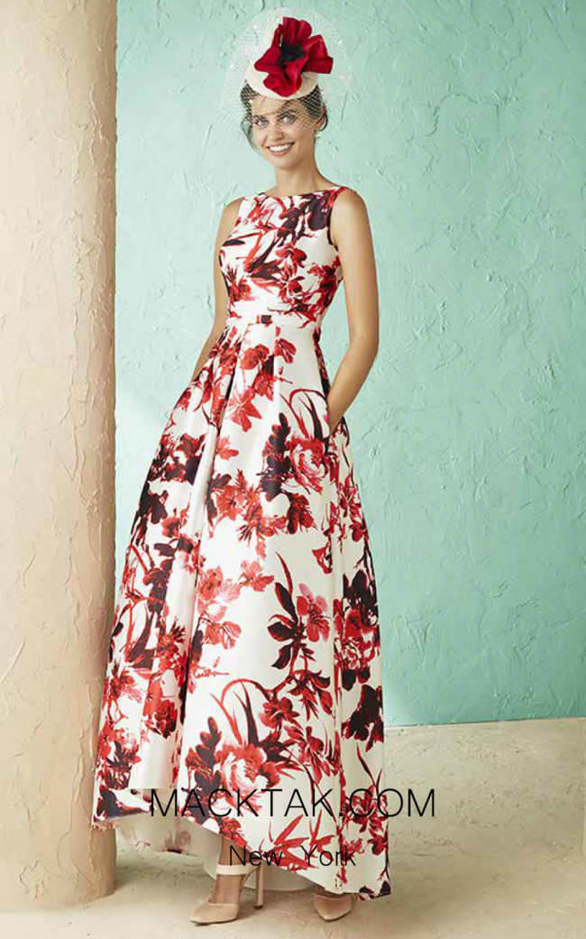 Rosa Clara Marfil 3J187 Front Dress