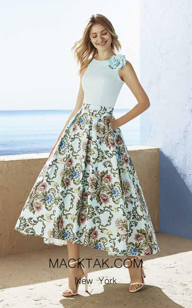 Rosa Clara Marfil 3J194 Front Dress