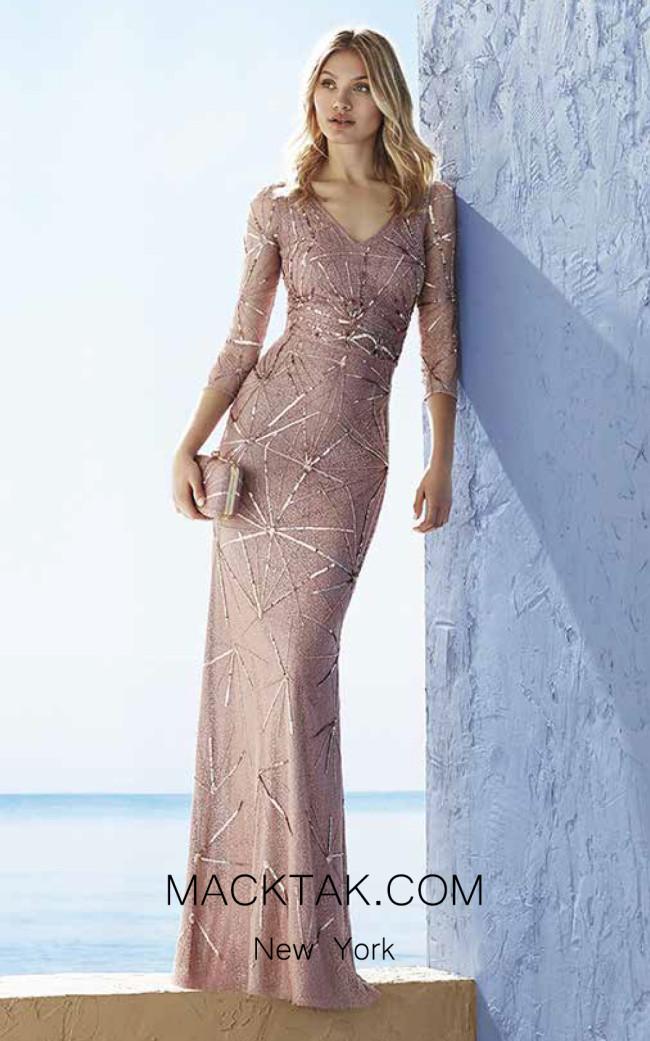 Rosa Clara Marfil 3J1B9 Front Dress