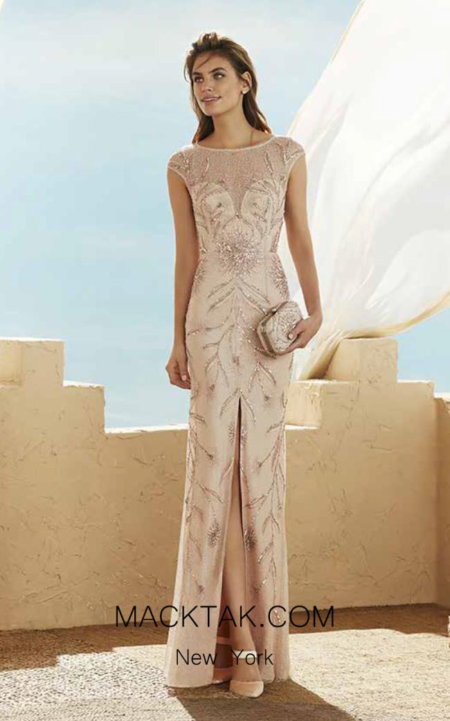 Rosa Clara Marfil 3J1C2 Front Dress