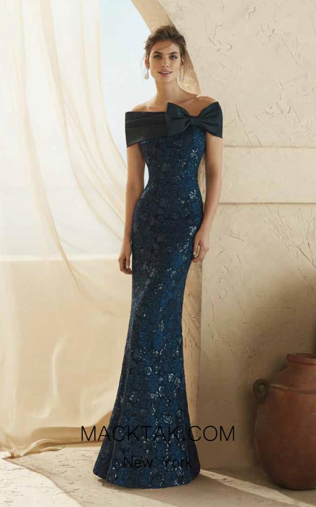 Rosa Clara Marfil 3J1D7 Front Dress