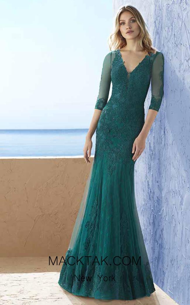 Rosa Clara Marfil 3J1G9 Front Dress