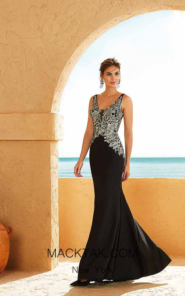 Rosa Clara Marfil 3J265 Front Dress