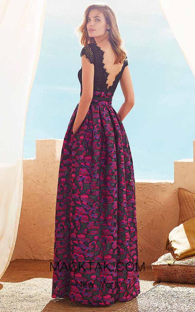 Rosa Clara Marfil 3J299 Back Dress