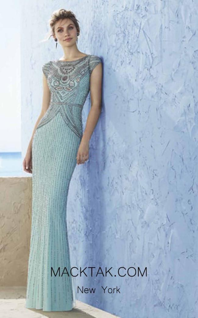Rosa Clara Marfil 3J2C5 Front Dress