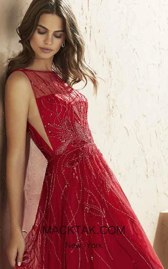 Rosa Clara Marfil 3J2F6 Front Dress