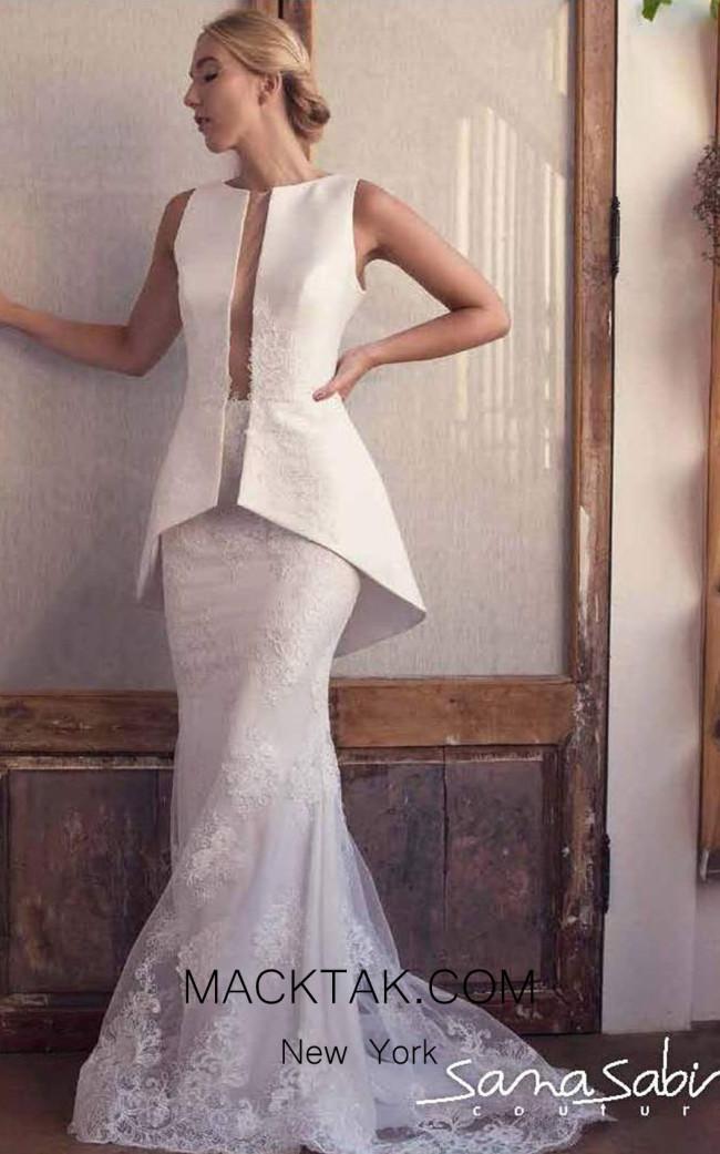 Sana Sabini 9045 Front Evening Dress