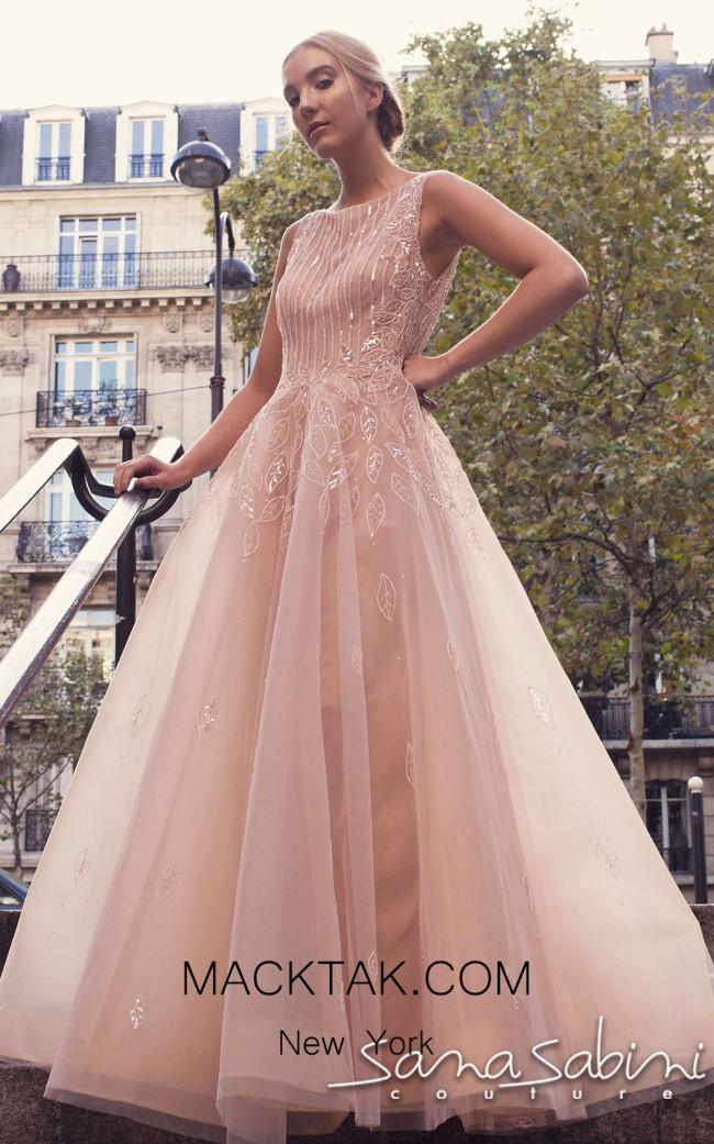 Sana Sabini 9257 Front Evening Dress