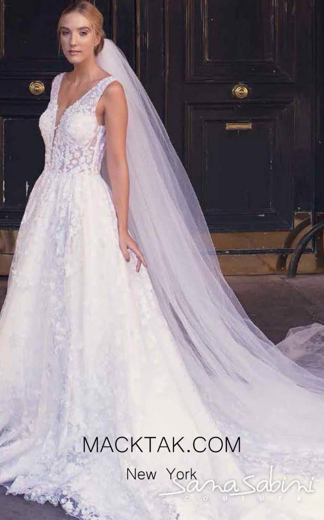 Sana Sabini 9282 Front Evening Dress