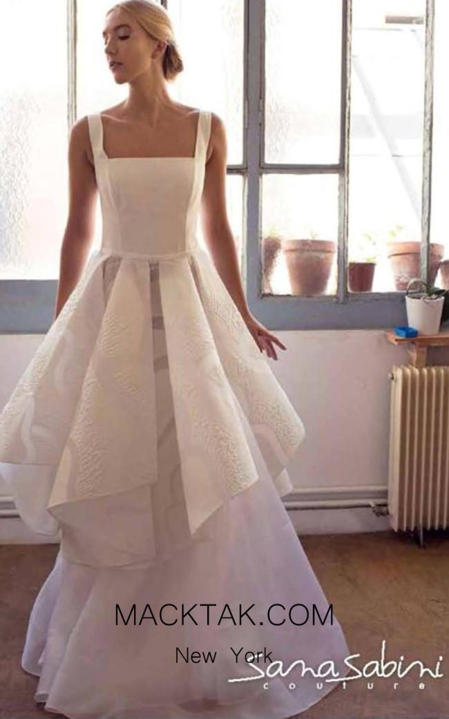 Sana Sabini 9303 Front Evening Dress