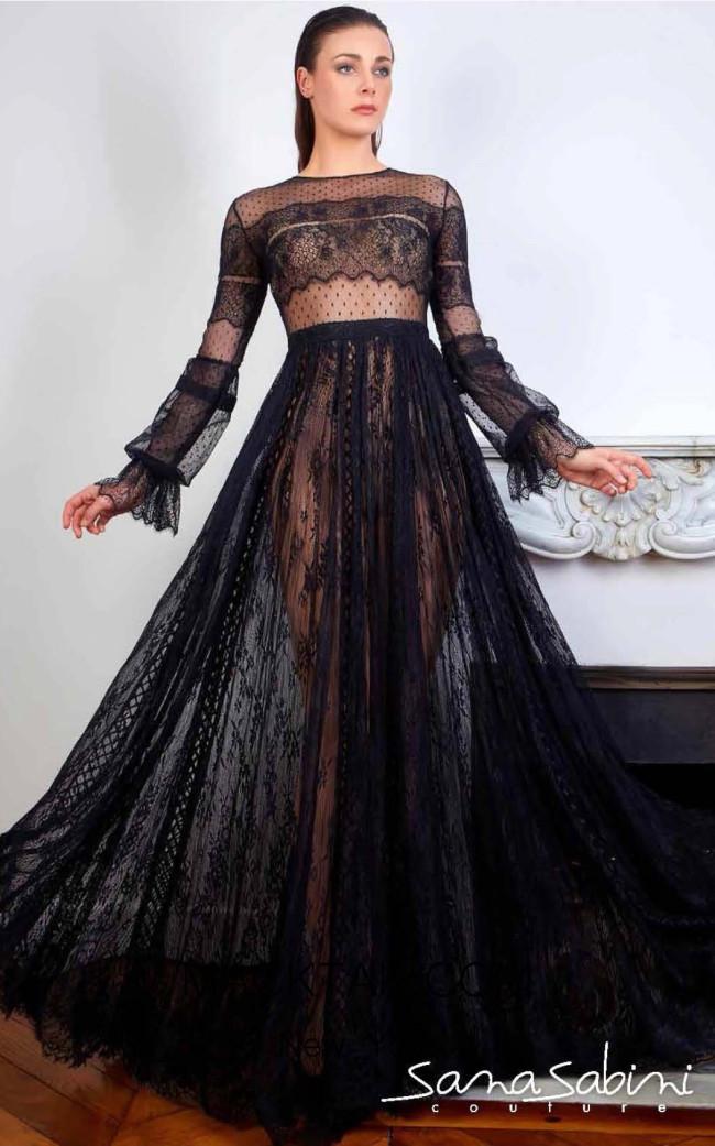 Sana Sabini 9354 Front Evening Dress