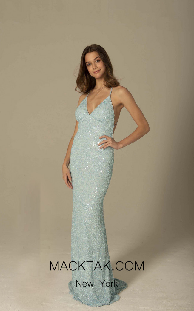 Scala 47542 Sky Front Dress