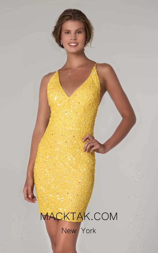 Scala 60060 Sunflower Front Dress