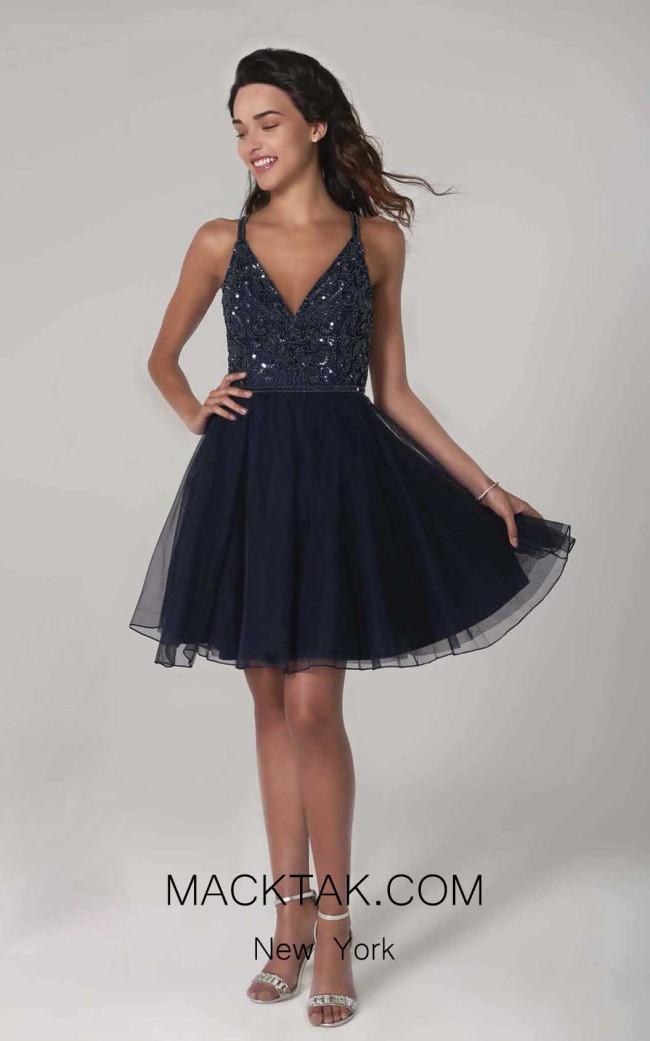 Scala 60076 Midnight Front Dress
