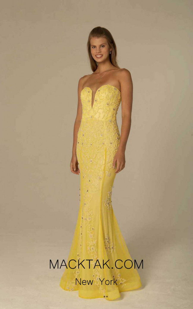 Scala 60097 Sunflower Front Dress